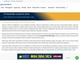 Best Online MBA Universities in Jaipur