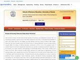 Kerala University Distance Education MBA Admissions 2021-2022,Fees, Eligibility Criteria, Review and
