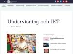 Undervisning och IKT