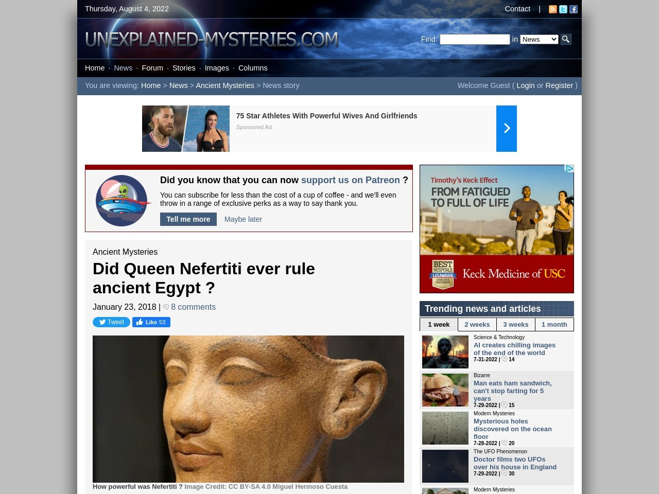 Did Queen Nefertiti ever rule ancient Egypt ?