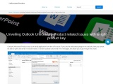 Outlook Unlicensed Product