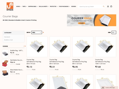 Buy Courier Bags Online in India – Lowest Prices