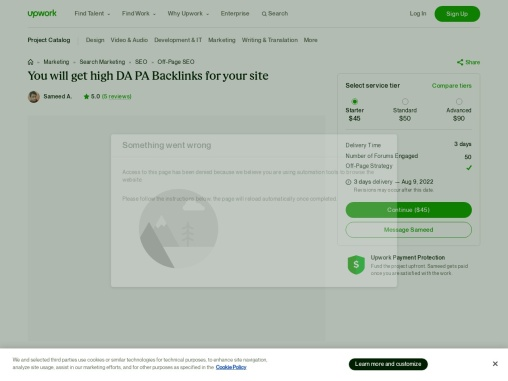 You will get high DA PA Backlinks for your site
