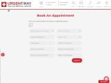 Book an Appointment AT URGENTWAY