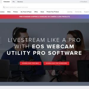 Canon U.S.A., Inc. | EOS Webcam Utility
