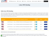 Get USA Linux VPS Hosting with Reliability