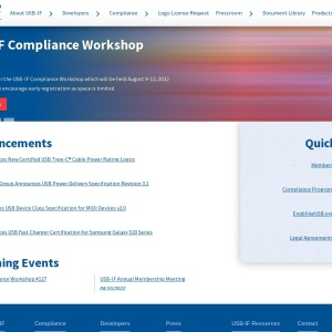 Front Page | USB-IF