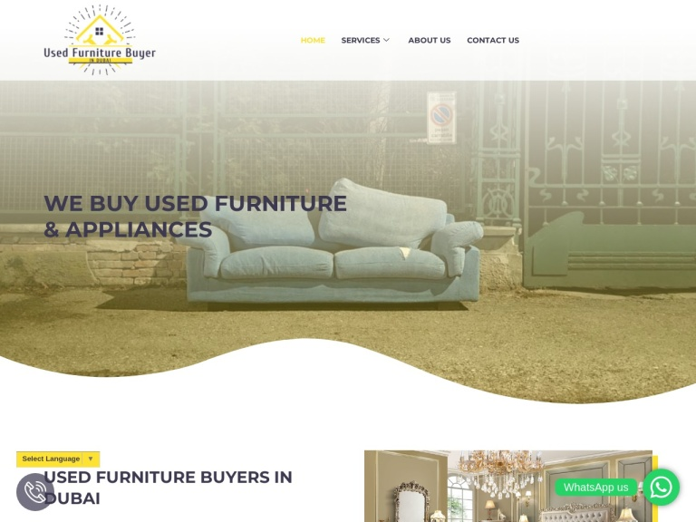 Used Furniture Buyers in Dubai screenshot
