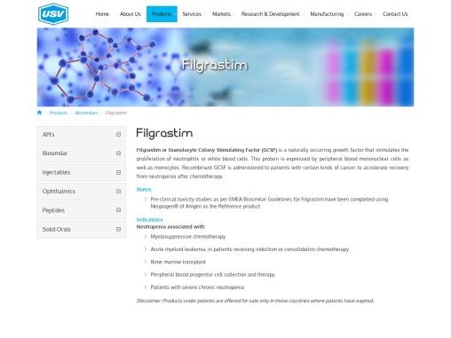 Filgrastim |neutropenia — Injection, Uses, Dosage & Side Effects