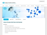 Custom Peptide Synthesis | Solid Phase Peptide Synthesis – USV Peptides