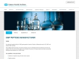 GMP Manufacturing in USA & UK | GMP Training & Facility | USV Peptides