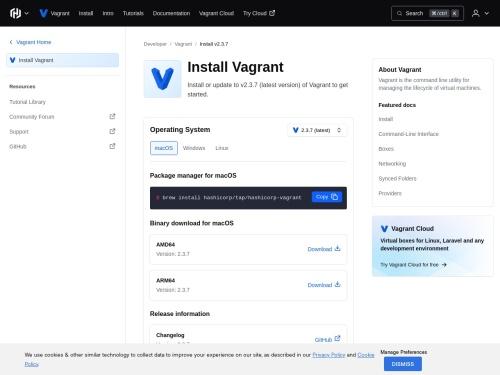 Download Vagrant