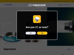 Vapor.com screenshot