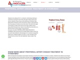 peripheral artery disease treatment in Hyderabad   Vascular Care