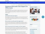 Microsoft chat support service