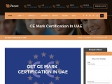 CE MARK Certification Consulting Services in UAE   Veave