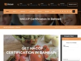 HACCP Certification Consulting Services in Bahrain | Veave