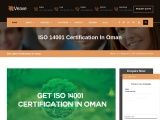 ISO 14001 Certification in Oman-Veave