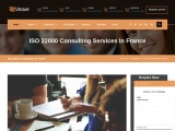 ISO 22000 certification consultancy in France-Veave