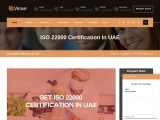 ISO 22000 Certification Consulting Services in UAE   Veave