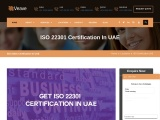 ISO 22301 Certification Consulting Services in UAE   Veave