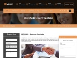ISO 22301 certification consultancy in Israel-Veave