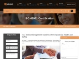 ISO 45001 certification consulting service in Lebanon | Veave