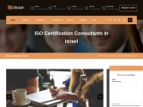 ISO Certification Consultancy in Israel – Veave