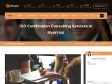 ISO Certification in Myanmar | Veave- Best ISO Consultants