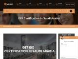 ISO Certification in Saudi Arabia | veave