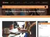 ISO Certification in Sweden   Veave