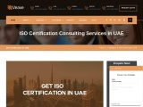 ISO, CE Mark, VAPT & HACCP Certification Company in UAE | Veave