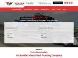 Canadian heavy haul trucking companies
