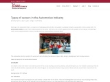 Careers in Automotive Industry