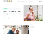 Child Tax Payday Loans Canada Up To $1,500- Cash Advance!