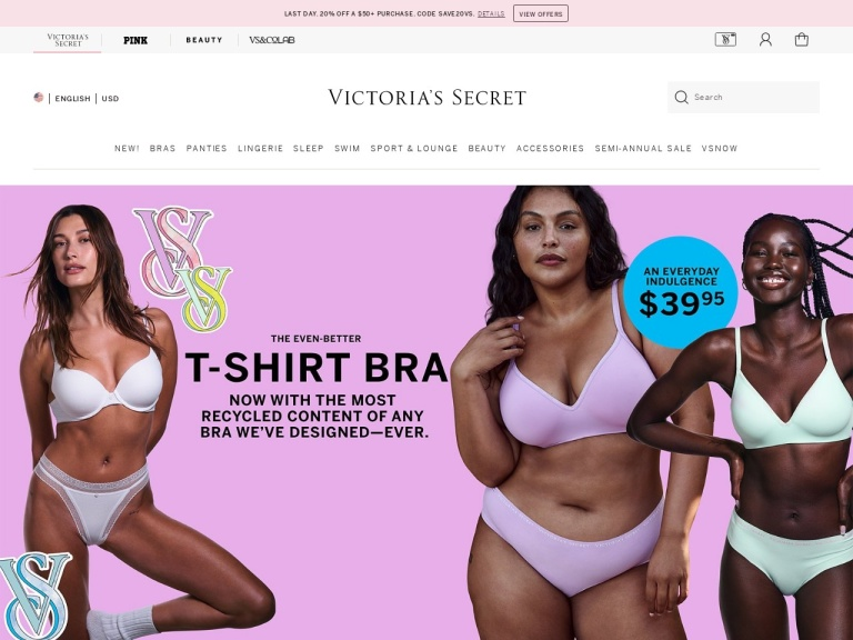 Victoria's Secret screenshot