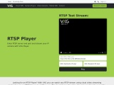 RTSP Player for Cloud Video Streaming