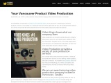 Your Vancouver Product Video Production
