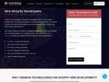 Shopify Development Services | Shopify Apps | Vidhema