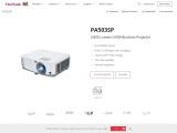 ViewSonic PA503SP 3,600 Lumens SVGA Business Projector – ViewSonic ME