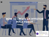 How to create an investor pitch video?