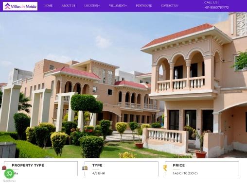Buy Amrapali Leisure Valley villa | Noida Extension