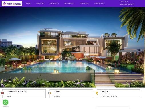 Luxury Godrej Golf Links Exquisite Villas in Greater Noida