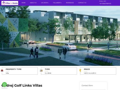 Buy Godrej Golf Links Villas – Luxury Villas in Greater Noida