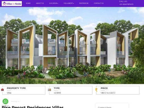 Rise Resort Villas Noida Extension | Rise Resort Villas Location