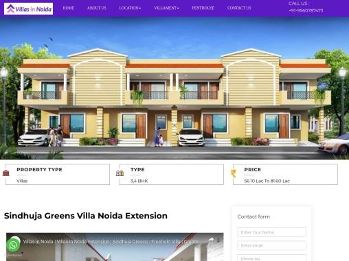 Sindhuja greens Independent Villa in Noida Extension   Sindhuja greens Villa