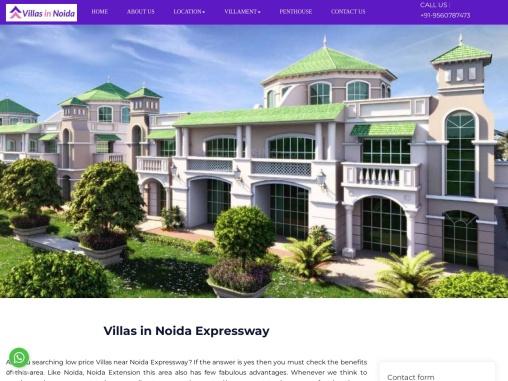 Villas in Noida Expressway | Independent villa Noida Expressway