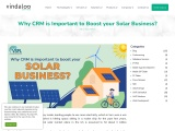 Why is CRM Important to Boost your Solar Business?