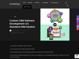 Custom CRM Software Development Vs Standard CRM Solution