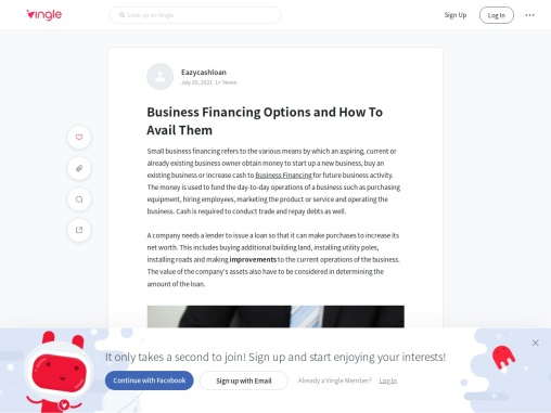 Business Financing Options and How To Avail Them